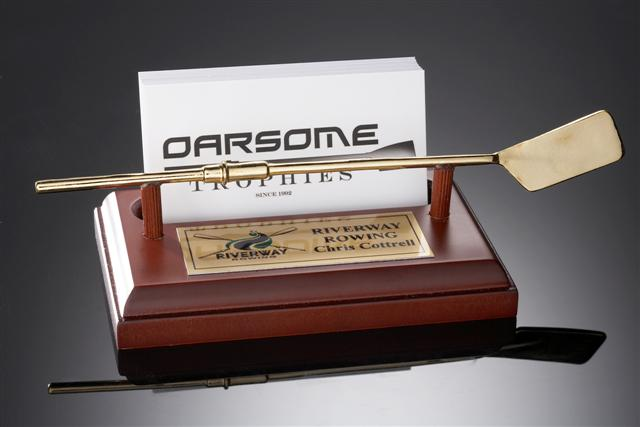 Rowing Business Card Holder