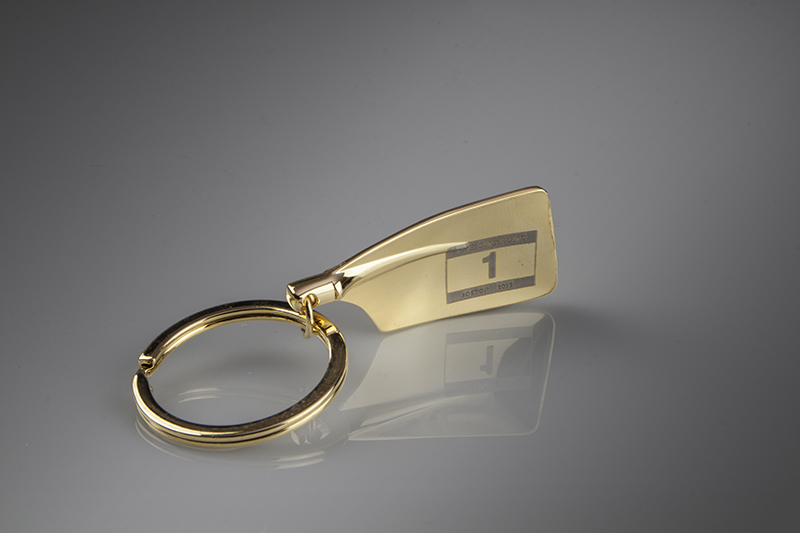 BOSTON ONE FUND GOLD Rowing Key Chain