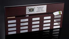 Perpetual Rowing Plaque