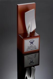 Silver Rowing Trophy